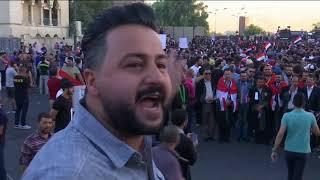 ادامه تظاهرات مردم در اعتراض به بیکاری و کمبود خدمات در عراق