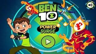 BEN 10 POWER SURGE Gameplay 1080HD   Cartoon Network Games 2016
