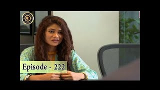 Haya Kay Rang Episode 222 - Top Pakistani Drama