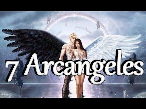 Los 7 Arcangeles Miguel Gabriel Rafael Uriel Jofiel Shamuel y Zadkiel