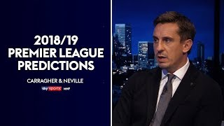 Neville and Carragher make their 2018/19 Premier League predictions! (Golden Boot/POTY/Top 4) | MNF
