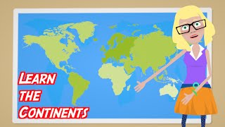 Learn the CONTINENTS [Preschool Geography Learning Lesson] | Preschool Kids TV