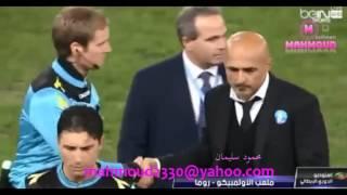 أول هاتريك لمحمد صلاح مع روما  ضد بولونيا  وتهنئة خاصة من سباليتي  6/11/2016