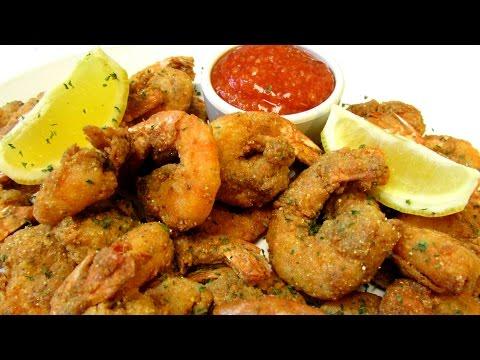Extra Crispy Southern Fried Shrimp - How To Make Crispy Fried Shrimp