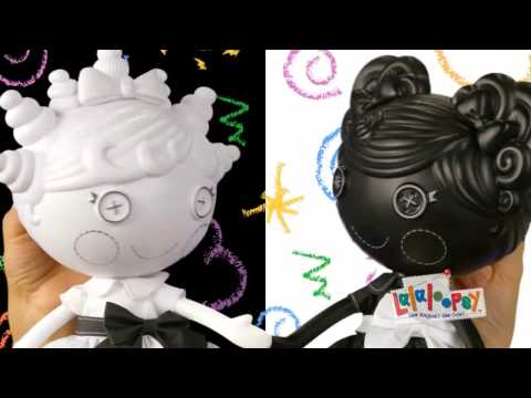 Lalaloopsy Color Me Dolls Commercial