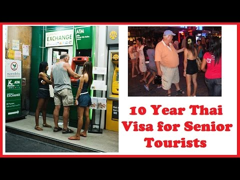 10 Year Thai Visa for Senior Tourists