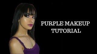 SMOKEY PURPLE| makeup tutorial
