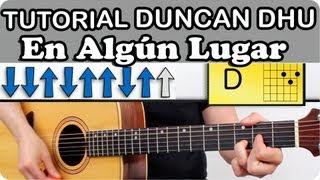 Como Tocar Guitarra EN ALGUN LUGAR de Duncan Dhu en guitarra acústica paso a paso clase cover