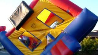 Bunch Of Kids Flipping A Huge Jumper