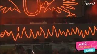 Jack Ü Skrillex & Diplo Live Lollapalooza Argentina 2016 (FULL)