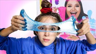 KARINA GARCIA SLIME!! - TESTING GLITTER SLIME