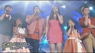 """Martin, Zsa Zsa sing """"Ikaw Ang Lahat Sa Akin / Mula Sa Puso"""" with Voice Kids"""