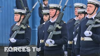Why The Royal Navy And British Army Came Together For Drill Practice | Forces TV