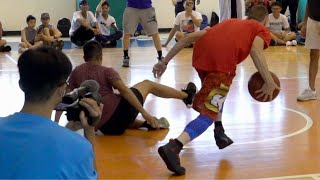 The Professor vs D1 Hooper in Taiwan 1v1... Gets Destroyed, Then DAMAGES Ankles