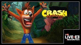 Crash Bandicoot is BACK and He