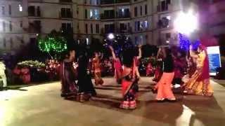 Metrozone Dandiya Night - Senior Girls Dance  - 17-10-2015