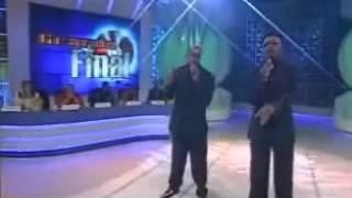 Jackson Santana e Alex Jordan no Programa Raul Gil