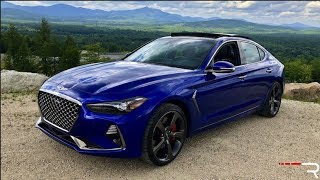 2019 Genesis G70 3.3T – The New Sport Sedan Benchmark