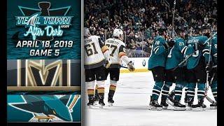 Teal Town After Dark (Postgame) - San Jose Sharks vs Vegas Golden Knights GAME 5 - 4/18/2019