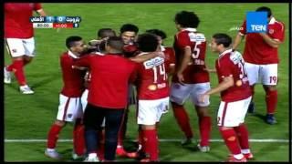 عماد متعب يحرز هدف الثلاث نقاط للنادى الاهلى فى الدقيقة 91 ... بتروجيت VS الاهلى 0 / 1