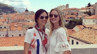 Trump's Daughter Vacationed With Putin's Girlfriend