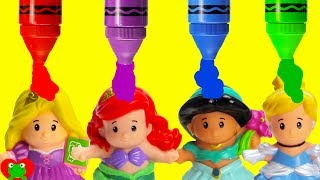 Best Learn Colors For Preschool Disney Princess Grow With Magical Color Potion