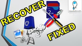 Recover & Fix: Blank / 'Damaged SD Card' Error