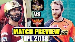 IPL 2018: Kolkata Knight Riders vs Sunrisers Hyderabad, Match Preview | वनइंडिया हिंदी