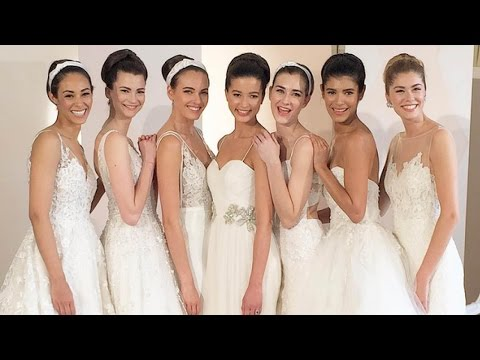 Anne Barge Behind the Scenes Spring 2018 Collection | New York Bridal Fashion Week 2017