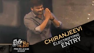 Mega Star Chiranjeevi Electrifying Entry @ Khaidi No 150 Pre-Release Function