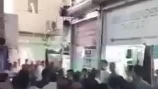 Iran, Mahabad, Les agents de la municipalité ont attaqué un marchand de rue pauvre