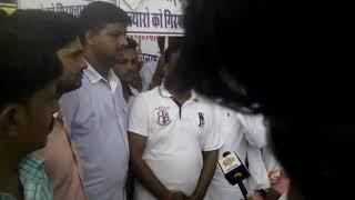 Dhanraj bairwa hatyakand me ambedkar srkil pr gyapan diya .Tv me interview dete huye shyam lal .
