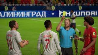 World Cup 2018 - England vs Belgium - Group G Full Match Sim (World Cup FIFA 18)