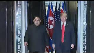 President Trump & Kim Jong-un Signing Ceremony at HISTORIC Summit in Singapore