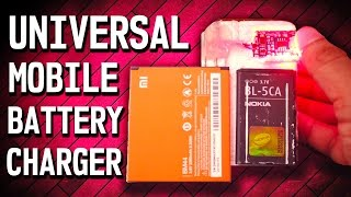 How To Make an Universal Cell Phone Battery Charger DIY   RoyTecTips