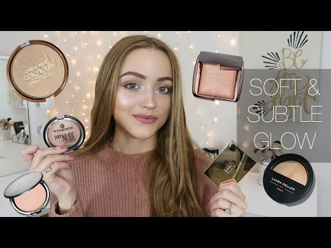 The Best NATURAL Highlighters | Drugstore + High End