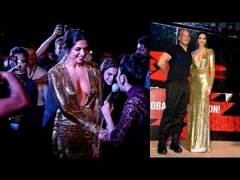 Xxx Mp4 Deepika Turns True Hollywood Babe In Deep Neck Gown 3gp Sex