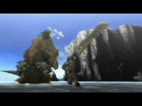 Wii [モンスターハンター3(トライ)] PV