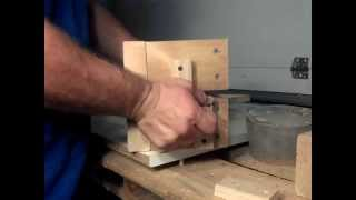 How to Make a Flask Using Wood For Sand casting Metal