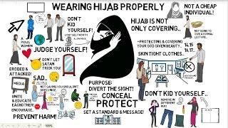 HOW TO WEAR HIJAB PROPERLY - Nouman Ali Khan Animated