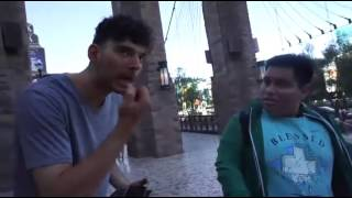 Mexican Andy tries to pick up girls with Ice (CRINGE)