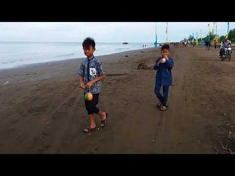 Persiapan Mandi Safar di Pantai Air Hitam Laut, Kec. Sadu Kab. Tanjung Jabung Timur