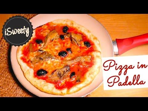 Pizza Napoletana Cotta in Padella SENZA FORNO [Ricetta Veloce]