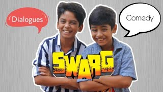 दम है ताेह ये dialogue बाैलके बतावाे , Try not to laugh swarg film dialogue govinda