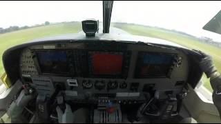 Avion que exlota en vivo
