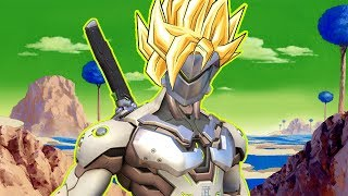 Overwatch Funny & Epic Moments - DRAGON BALL GENJI - Highlights Montage 157