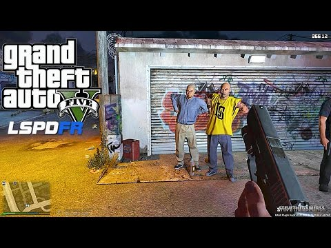 GTA 5 LSPDFR 0.3.1 - EPiSODE 133 - LET'S BE COPS - FIRST PERSON PATROL (GTA 5 PC POLICE MODS)