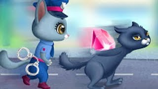 Kitty Meow Meow City Heroes - Cats to the Rescue - Top Baby Games