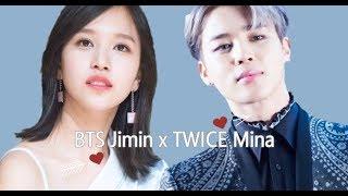 BTS Jimin x TWICE Mina (JiMina) All Moments [BangTwice]