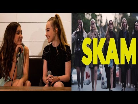 Rowan Blanchard Calls Sabrina Carpenter Out On Twitter?! | First Impressions On SKAM